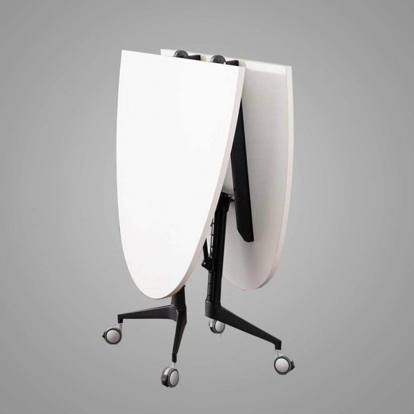 Newport Oval Flip up Table