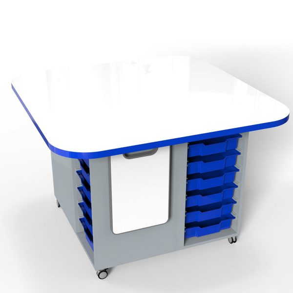 Trident Activity Trolley – Whiteboard Top